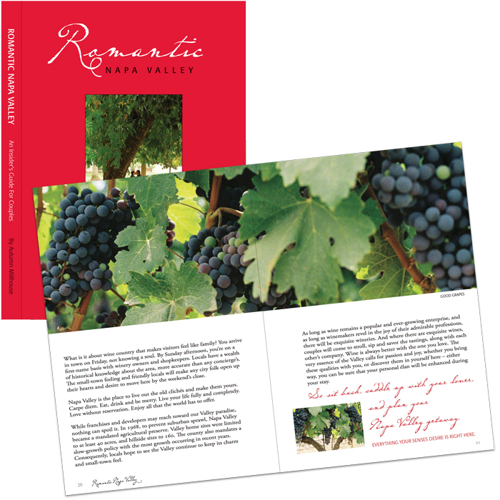 Book on Napa Valley Wines